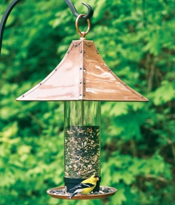 Large Palazzo Venetian Bronze Wild Bird Feeder
