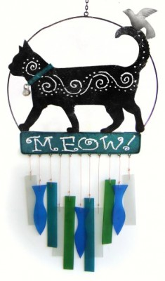 Kittie Meow Wind Chime