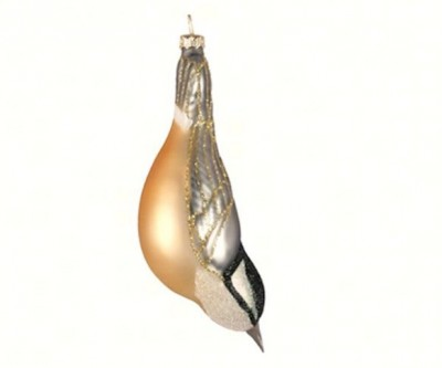 Rose Breasted Nuthatch Christmas Tree Ornament