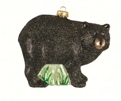 Black Bear Tree Ornament