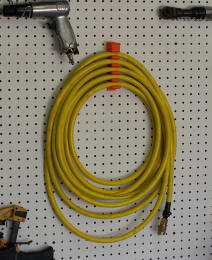 Water Hose and Air Hose Storage