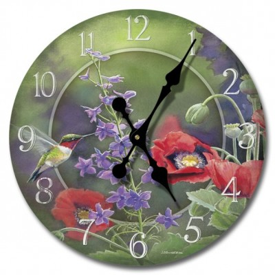 Nature Beauty Wood Clock