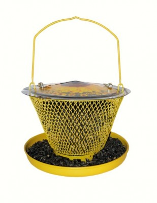 Designer Sunflower Single with Tray Wild Bird Feeder
