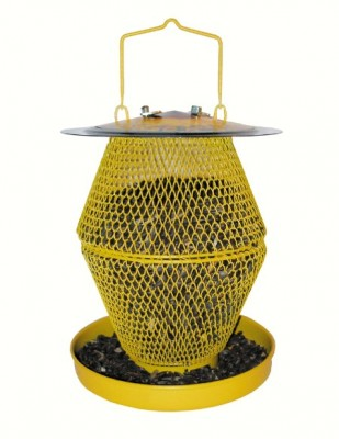Designer Sunflower Double with Tray Wild Bird Feeder