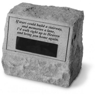 Personalized Cast Stones