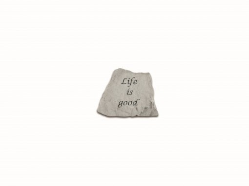 Kay Berry Inspirational Great Thought Cast Stone